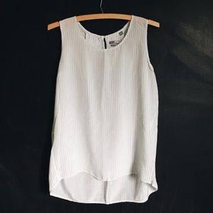 Uniqlo Silk Striped Tank Top